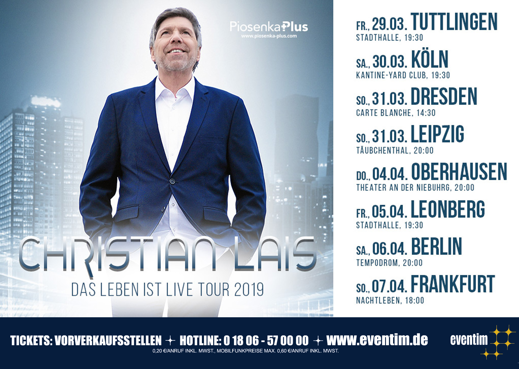 Christian Lais Tour 2019